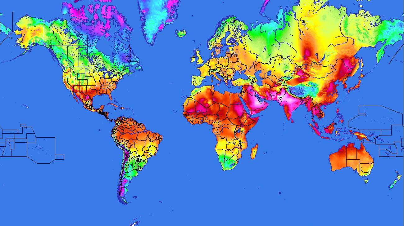 Cartes des stations météo en temps réel en France, en Europe et dans le Monde — archives depuis ...