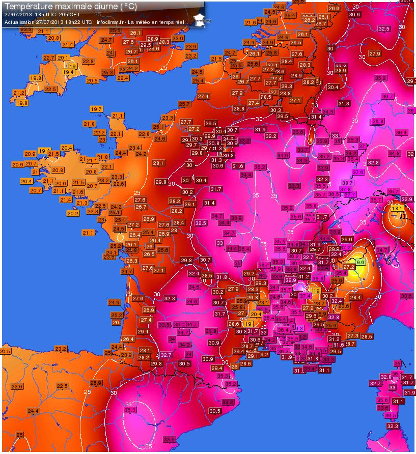 Image d'illustration pour Suivi de la vague de chaleur - vigilance canicule